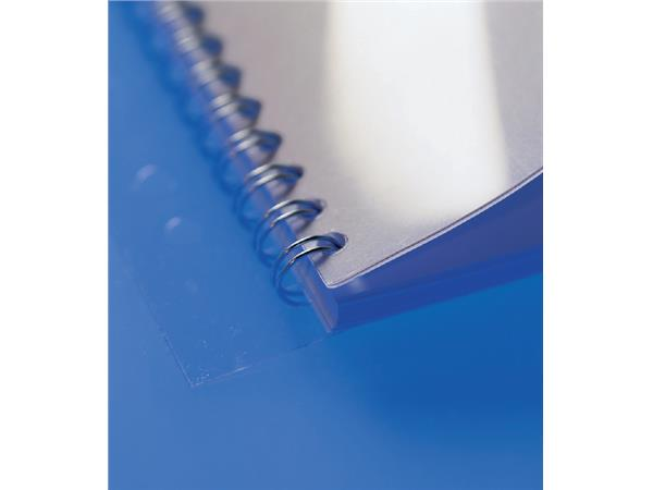 Filestrip GBC 34-gaats A4 transparant 100stuks