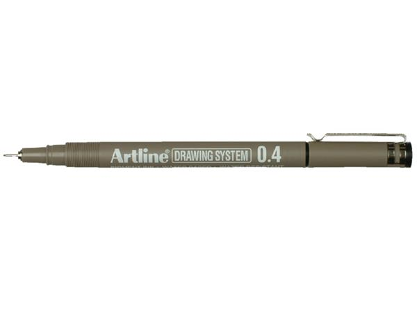 FINELINER ARTLINE 0.4MM ZWART