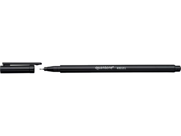 Fineliner Quantore zwart 0.4mm