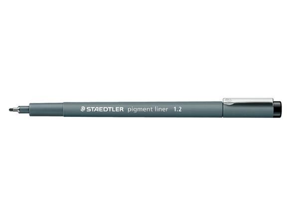 Fineliner Staedtler Pigment 308 zwart 1.2mm