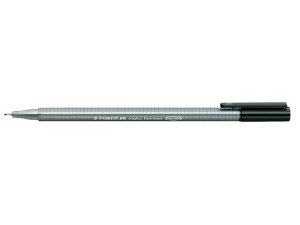 Fineliner Staedtler Triplus 334 zwart 0.3mm