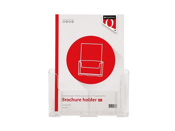 Folderhouder Quantore A4 transparant