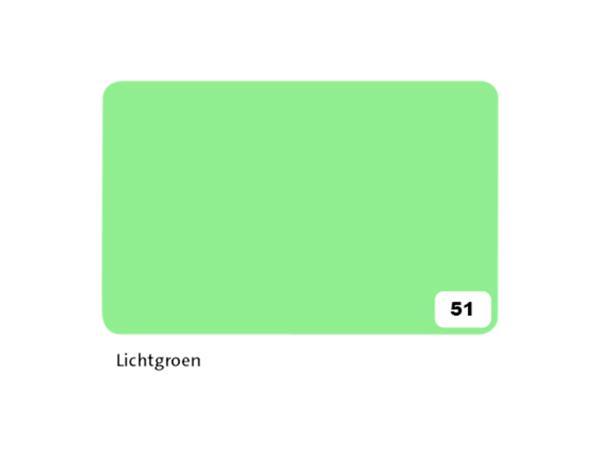Fotokarton Folia 2zijdig 50x70cm 300gr nr51 lichtgroen