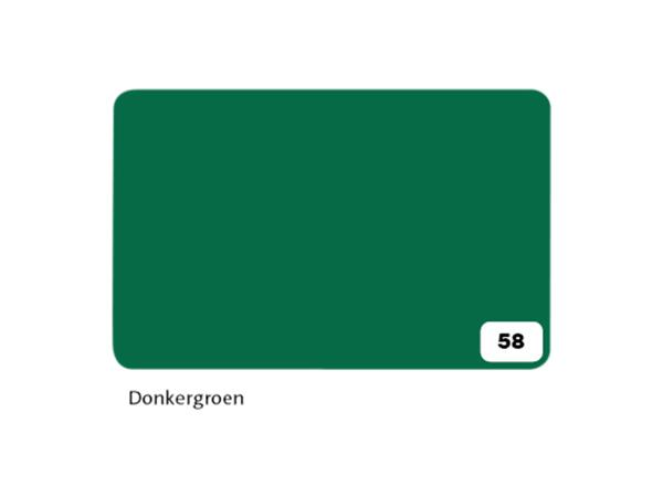 Fotokarton Folia 2zijdig 50x70cm 300gr nr58 donkergroen