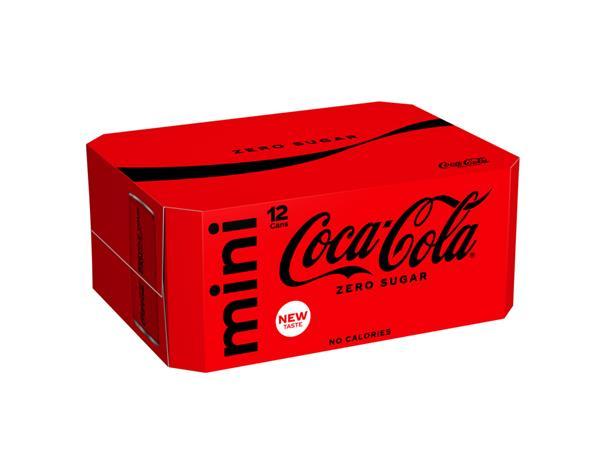 frisdrank coca cola zero blikje 0 15l