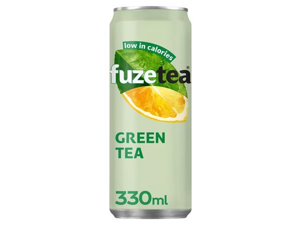 FRISDRANK+FUZETEA+GREEN+TEA+BLIKJE+0.25L