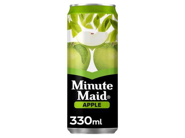 frisdrank minute maid appelsap blikje 0 33l