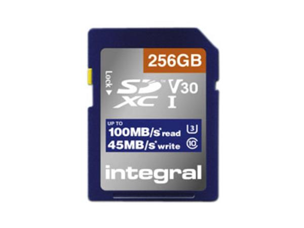 GEHEUGENKAART INTEGRAL SDHC-XC 128GB
