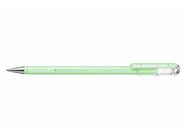 Gelschrijver Pentel K108-P 0.5mm pastel lichtgroen