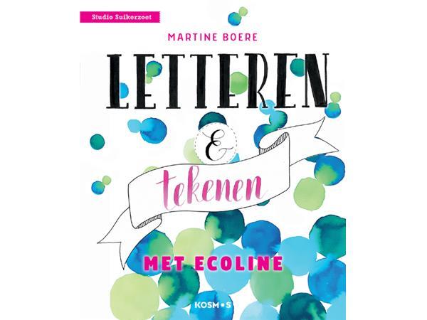 Handboek letteren en tekenen met Ecoline
