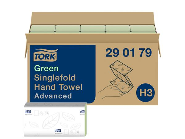 HANDDOEK TORK ADVANCED H3 Z-VOUW 23X25CM 3750ST 290179