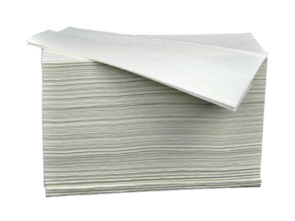 Handdoekvulling Cleaninq Z-vouw 2L voor H2 23,4x19,6cm 4740st.