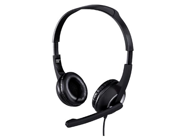 HEADSET HAMA HS300 PC ON EAR ZWART