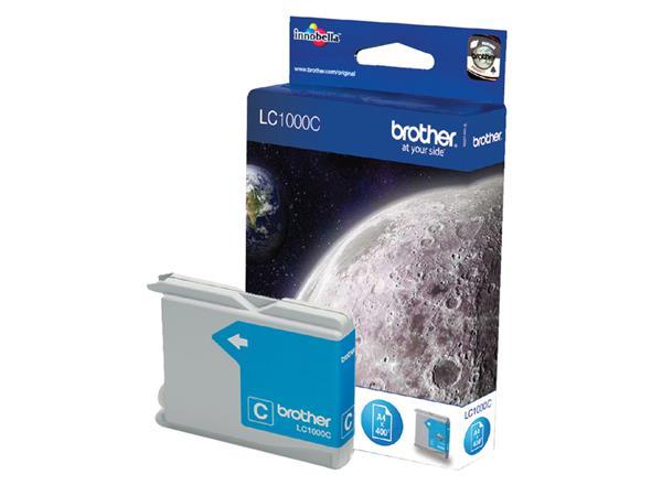 Inktcartridge Brother LC-1000C blauw