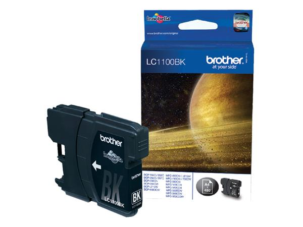 INKCARTRIDGE BROTHER LC-1100 ZWART