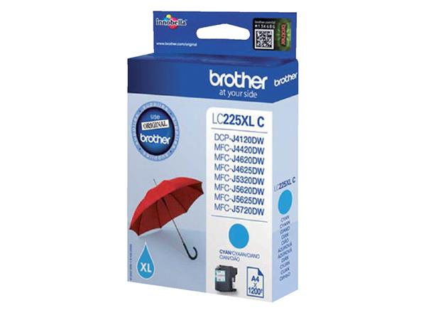 INKCARTRIDGE BROTHER LC-225XL BLAUW