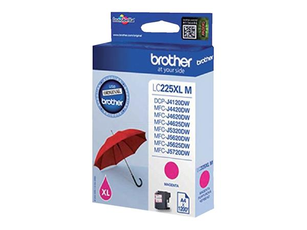 INKCARTRIDGE BROTHER LC-225XL ROOD