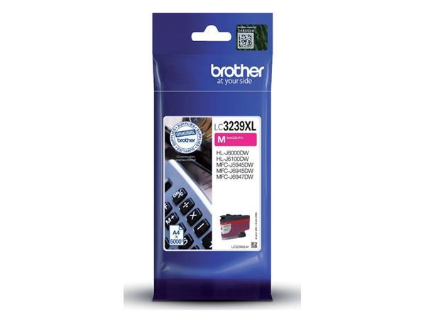 Inktcartridge Brother LC-3239XL rood HC