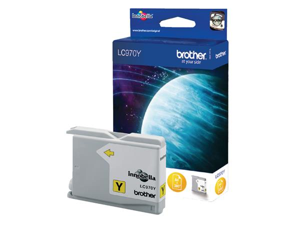 Inkcartridge Brother LC-970Y geel