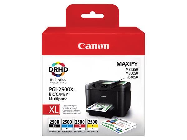 Inktcartridge Canon PGI-2500XL zwart + kleur HC