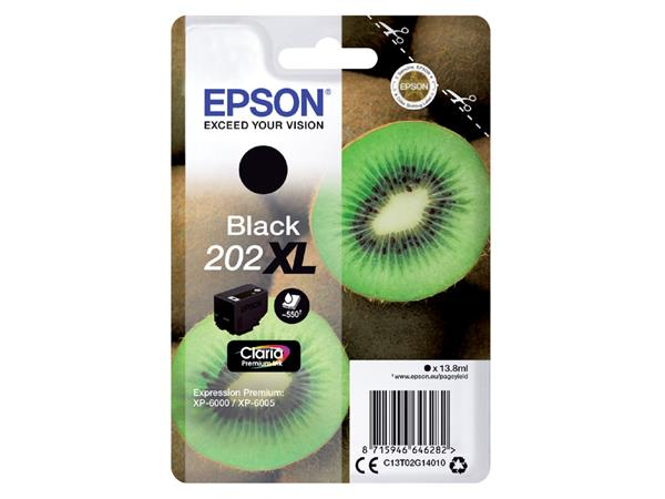 INKCARTRIDGE EPSON 202XL T02G14 ZWART