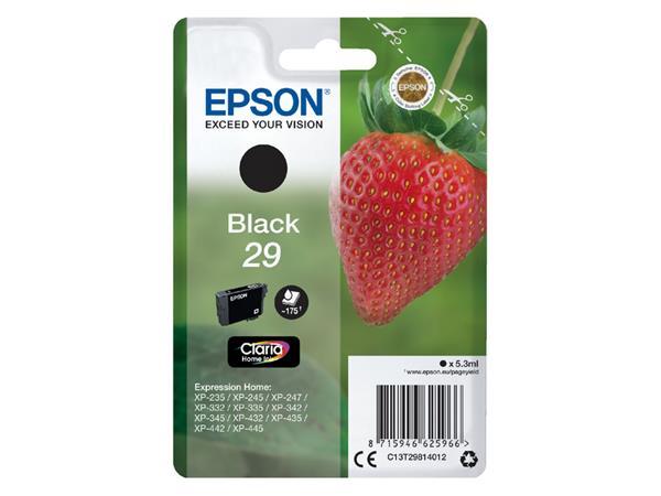Inktcartridge Epson 29 T2981 zwart