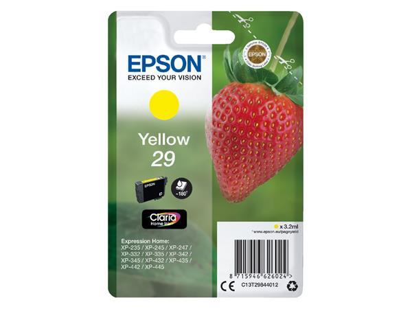 Inktcartridge Epson 29 T2984 geel