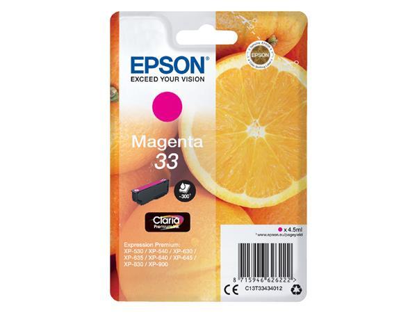 Inktcartridge Epson 33 T3343 rood