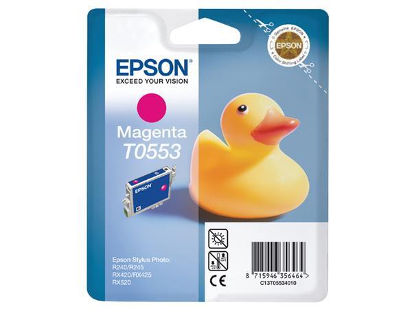 Inktcartridge Epson T0553 rood