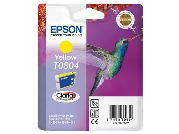 Inktcartridge Epson T0804 geel