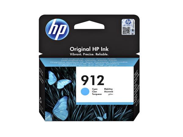 INKCARTRIDGE HP 912 3YL77AE BLAUW