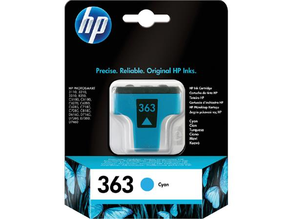 INKCARTRIDGE HP 363 C8771EE BLAUW