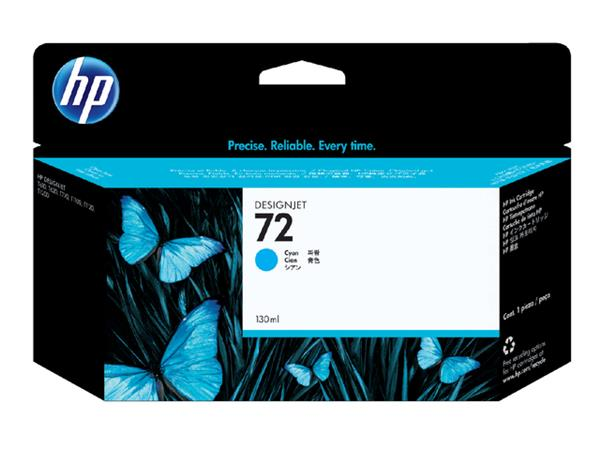 Inktcartridge HP C9371A 72 blauw