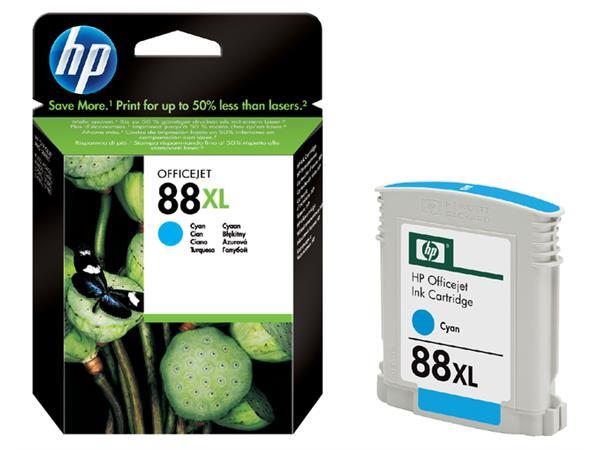 Inkcartridge HP C9391AE 88XL blauw HC