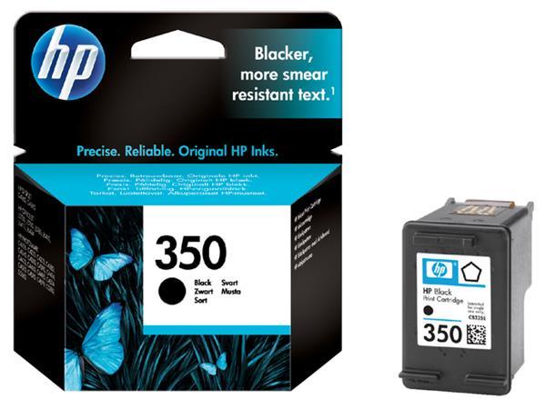INKCARTRIDGE HP 350 CB335EE ZWART