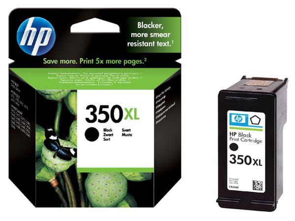 INKCARTRIDGE HP 350XL CB336EE HC ZWART