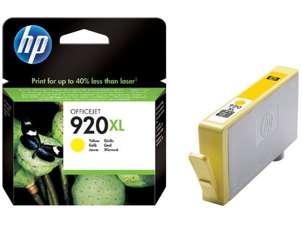 Inkcartridge HP CD974AE 920XL geel HC