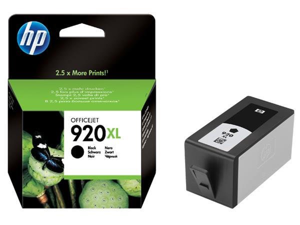 Inkcartridge HP CD975AE 920XL zwart HC