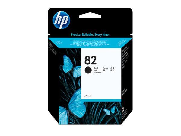 Inktcartridge HP CH565A 82 zwart