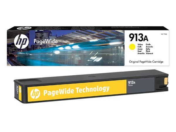 Inktcartridge HP F6T79AE 913A geel