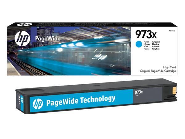 Inktcartridge HP F6T81AE 973X blauw