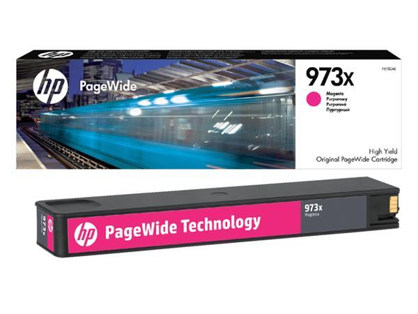 Inktcartridge HP F6T82AE 973X rood