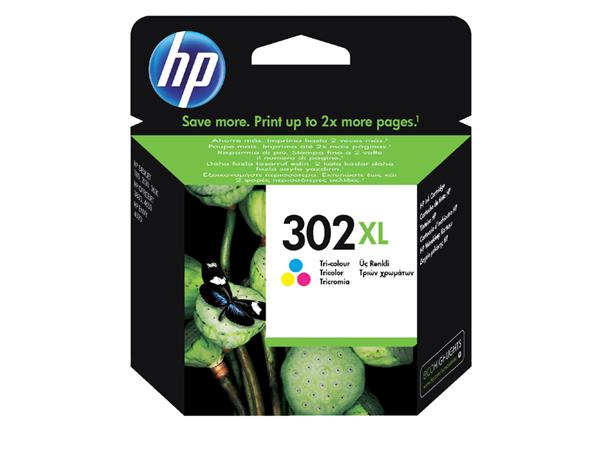 INKCARTRIDGE HP 302XL F6U67AE KLEUR