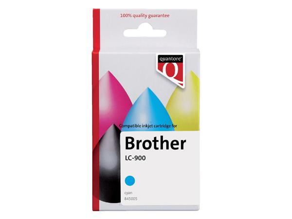 Inktcartridge Quantore Brother LC-900 blauw