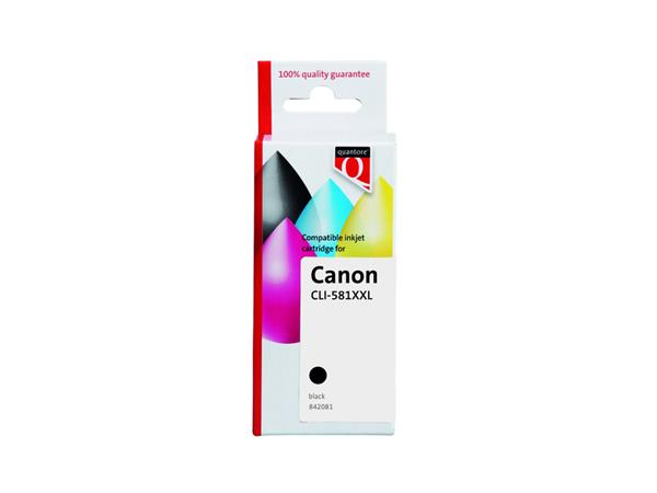 INKCARTRIDGE QUA CANON CLI-581XXL PIGMENT ZWART