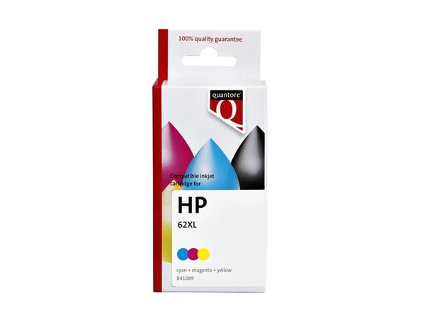 INKCARTRIDGE QUANTORE HP 62XL C2P07AE HC KLEUR