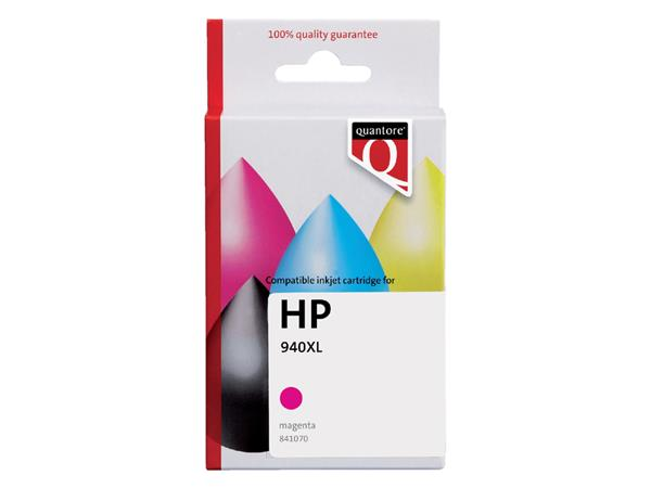 Inkcartridge Quantore HP C4908AE 940XL rood