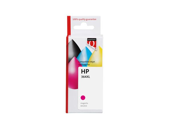 Inktcartridge Quantore HP CB324A 364XL rood