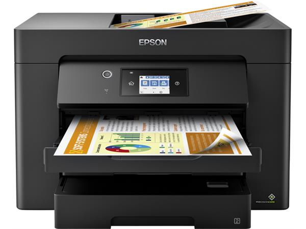 Inkjetmultifunctional Epson Workforce WF-7830 zwart