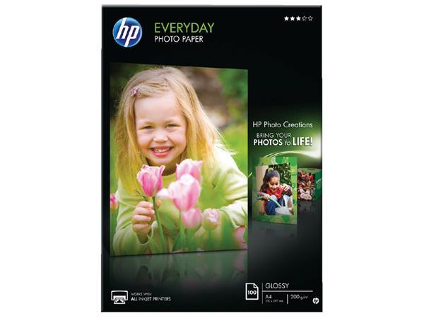 FOTOPAPIER HP Q2510A A4 200GR SEMI GLANS